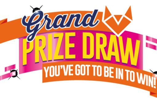 Grand Prize Draw. Be in to win
